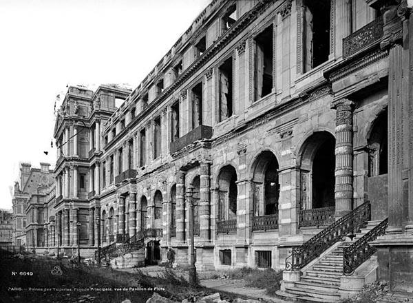 Palais des tuileries xvie xixe siecle adresses horaires tarifs - Horaires jardin des tuileries ...