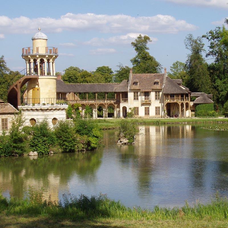 Ch teau du petit trianon xviiie si cle adresses for Jardin anglais du petit trianon