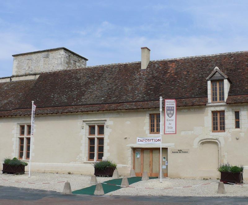 Ch teau de ch tillon sur indre xiie xve si cle - Office de tourisme chatillon sur indre ...