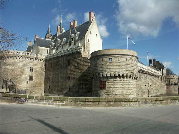 Le chateau des Ducs de Bretagne dans Nantes nantes094