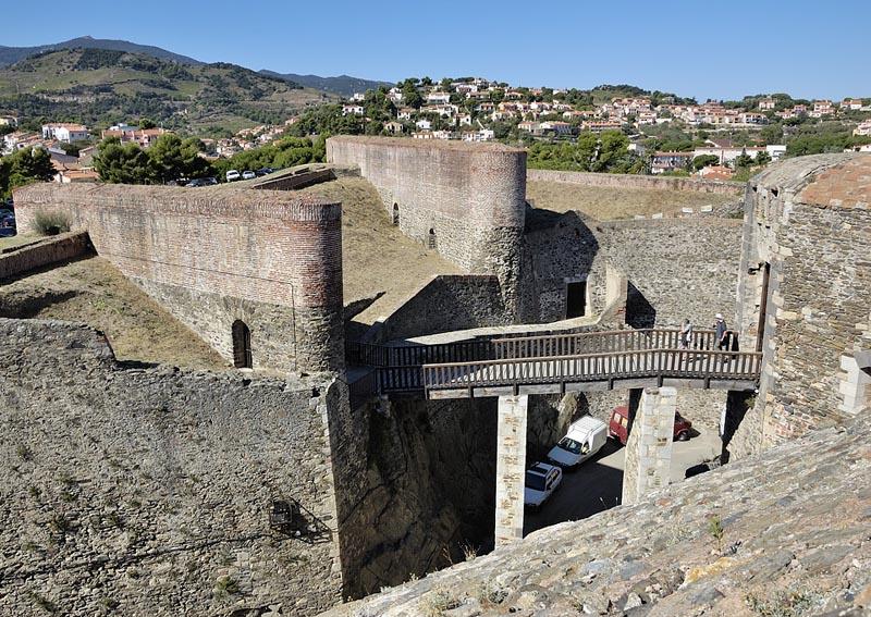 Ch teau royal de collioure xiiie xviie si cle adresses - Chateau royal collioure ...