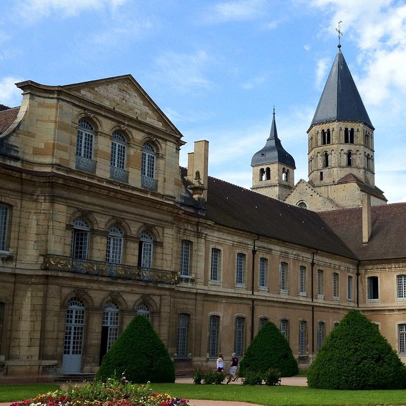 Abbaye de cluny xie xviiie si cle adresses horaires - Abbaye de citeaux horaires des offices ...