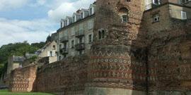 Remparts gallo-romains et vieille ville du Mans